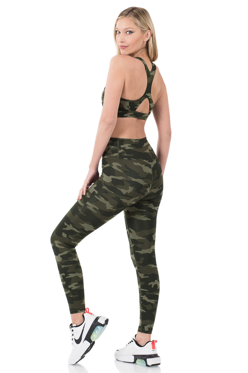 ATHLETIC CAMOUFLAGE SET
