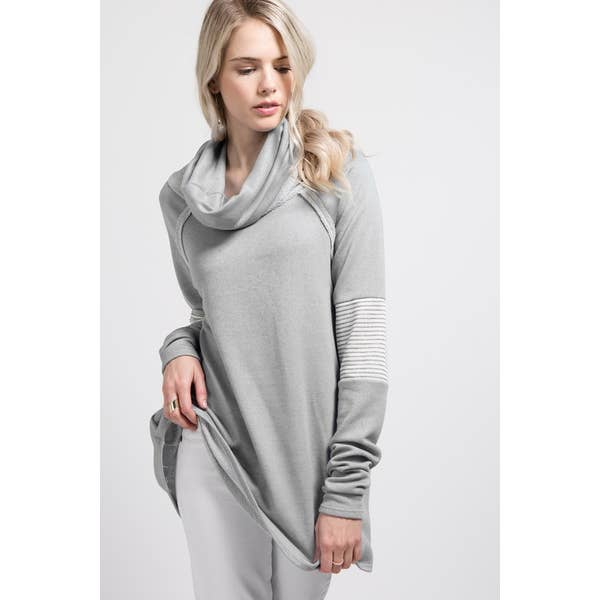 Cowl Neck Tunic | 2 colors
