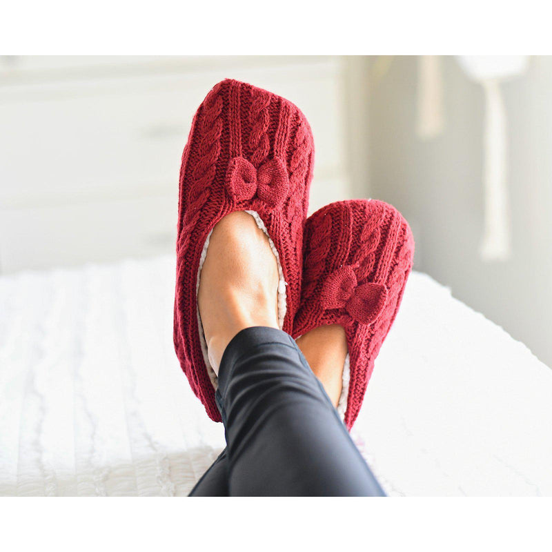 Fleece Slipper Socks | 4 colors