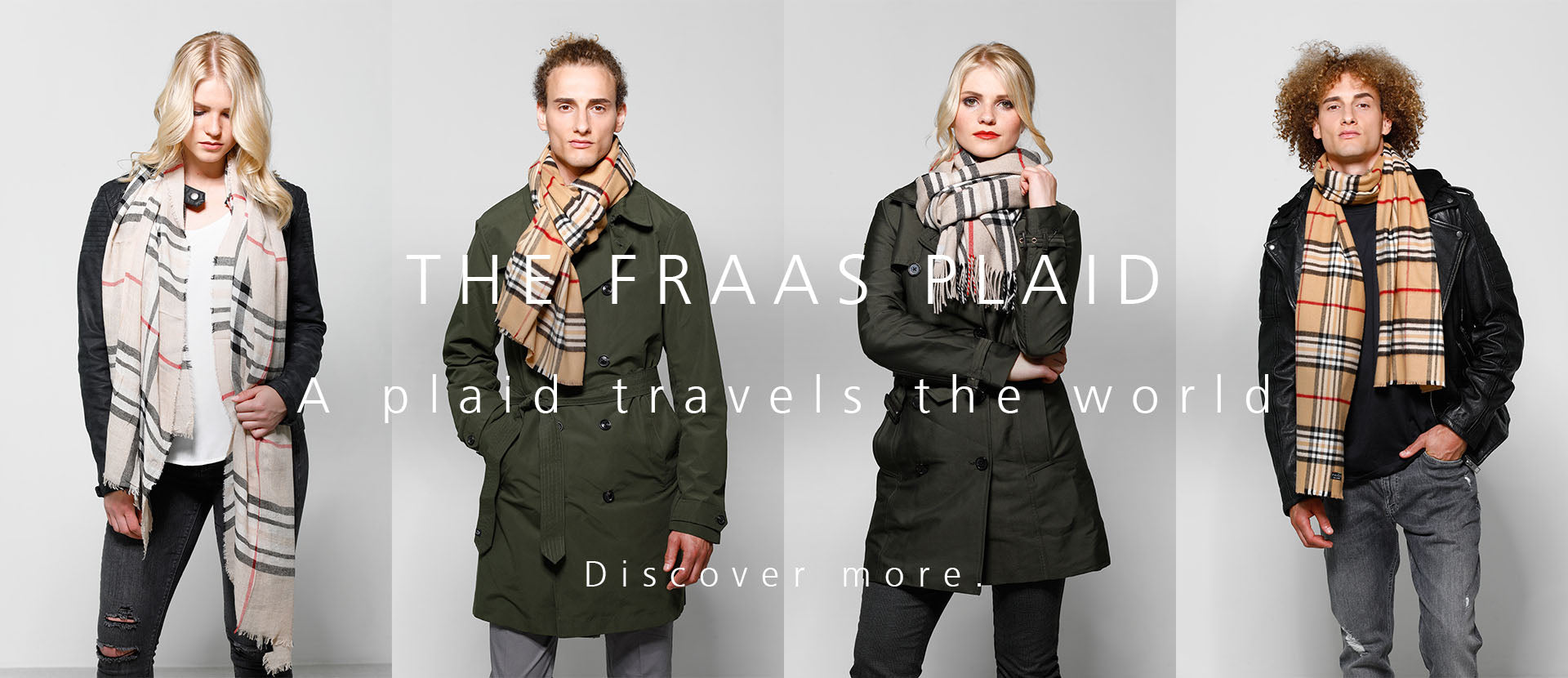 FRAAS Plaid desktop header unisex