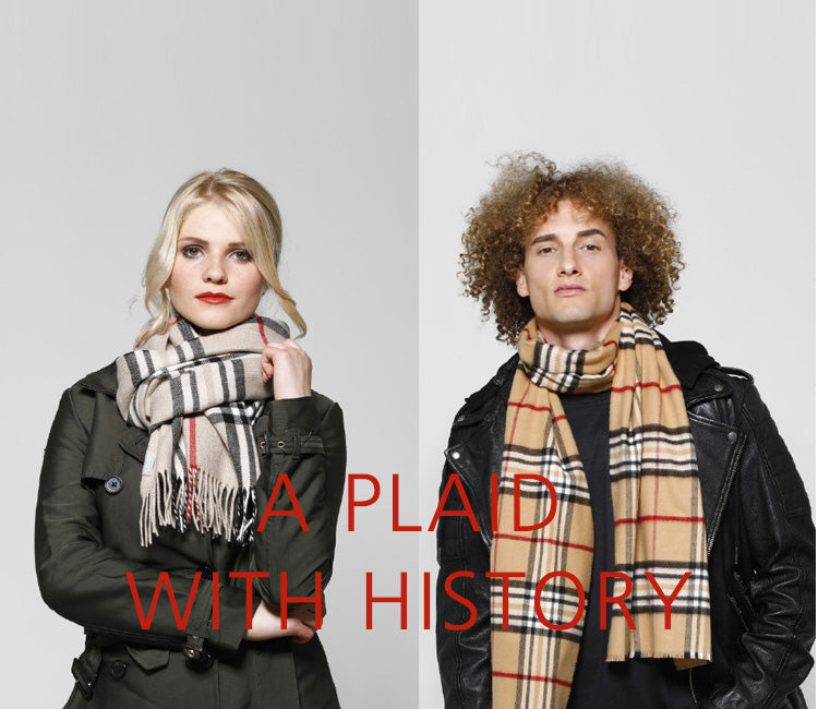 FRAAS Plaid Scarf Mens Womens Fashion Banner