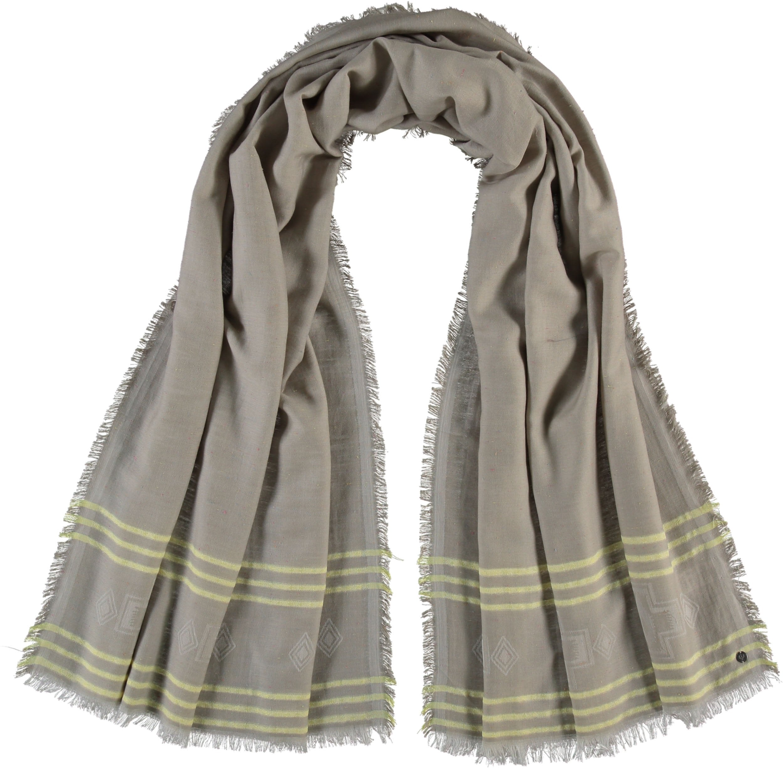 TH!NK Tencel Organic Cotton Striped Slub Scarf