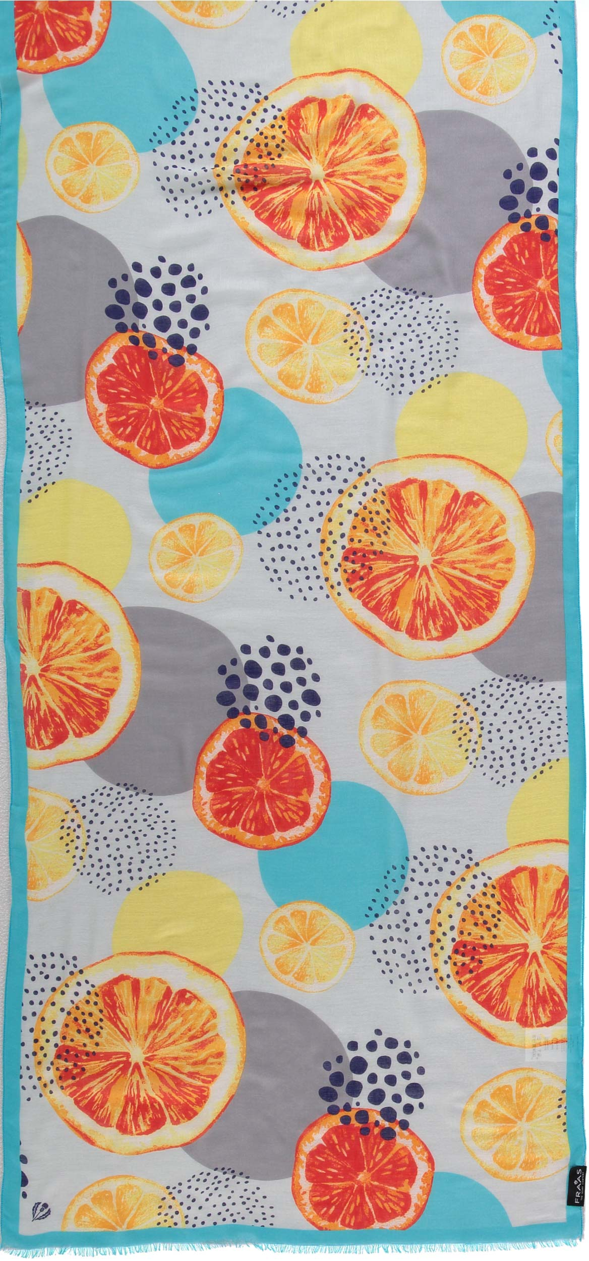 Fresh Squeezed Printed Viscose Scarf