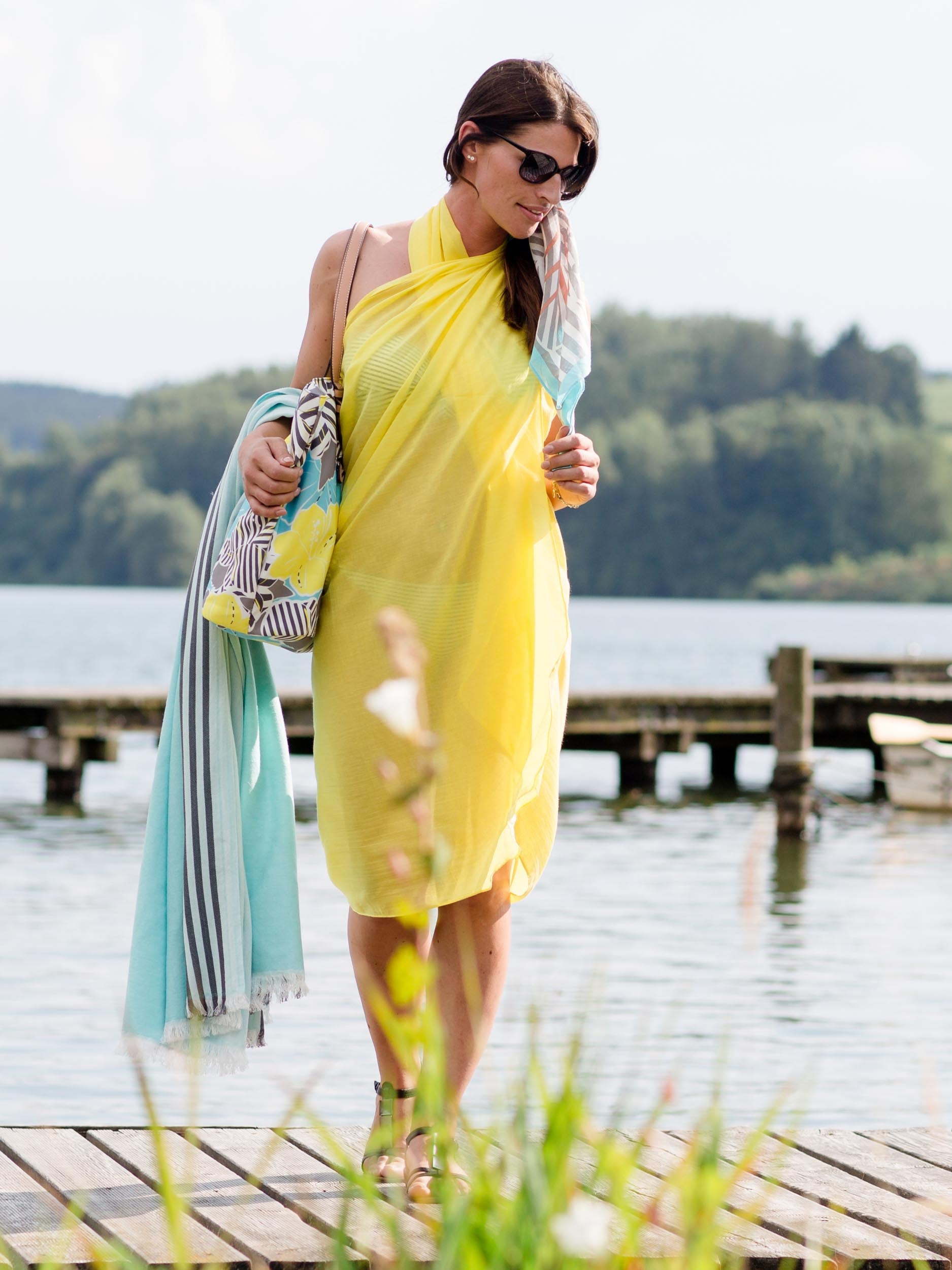 Solid Cotton Wrap Pareo