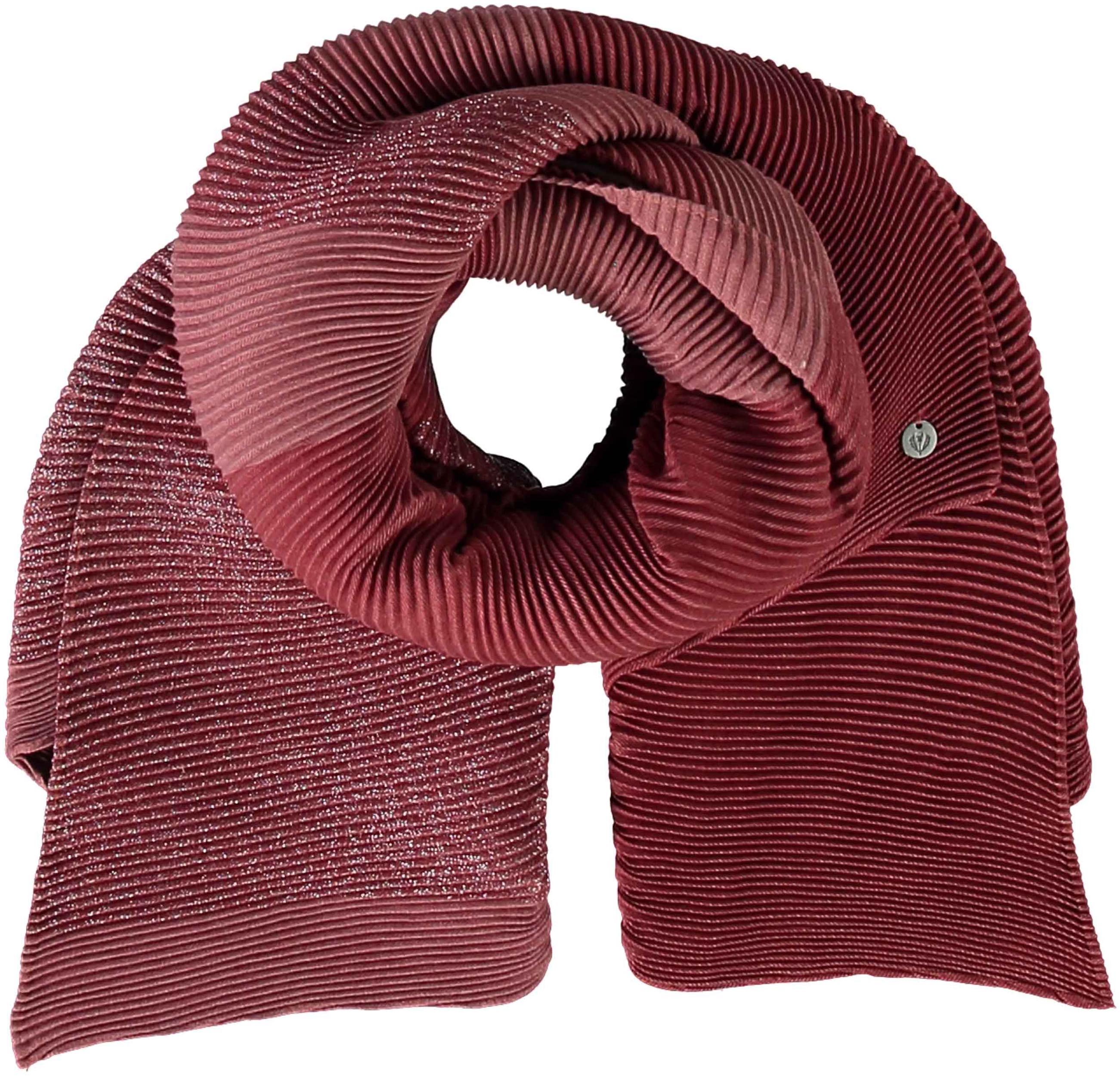 Shimmer & Shine Plissé Polyester Pleated Wrap Scarf