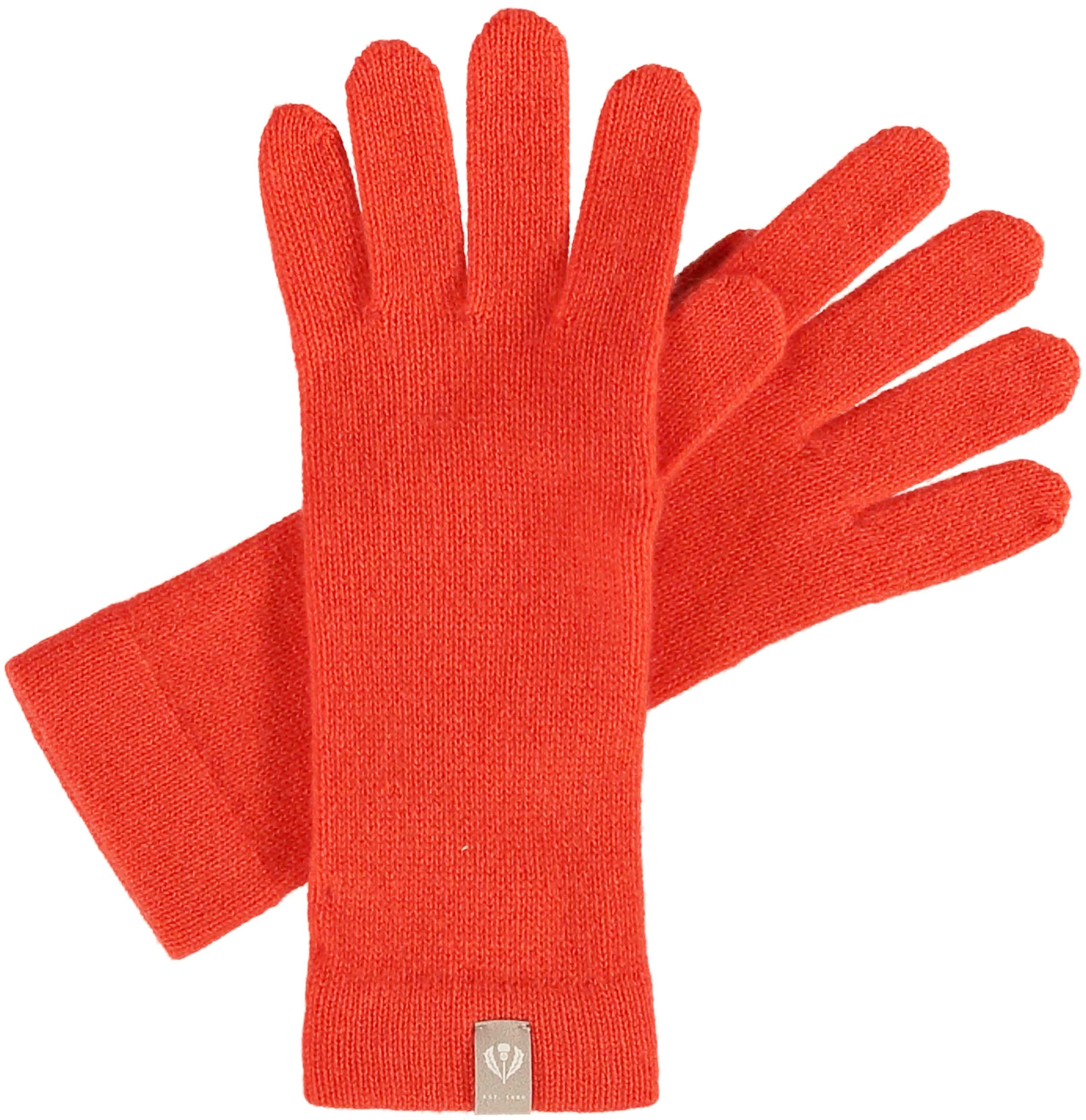 Signature Jersey Knit Cashmere Glove