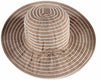 Stripe Adjustable Polyester Beach Hat