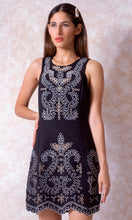 Load image into Gallery viewer, Embroidered Eyelet Dress