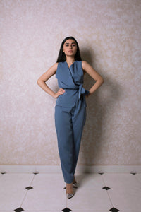 Fold Over Jumpsuit