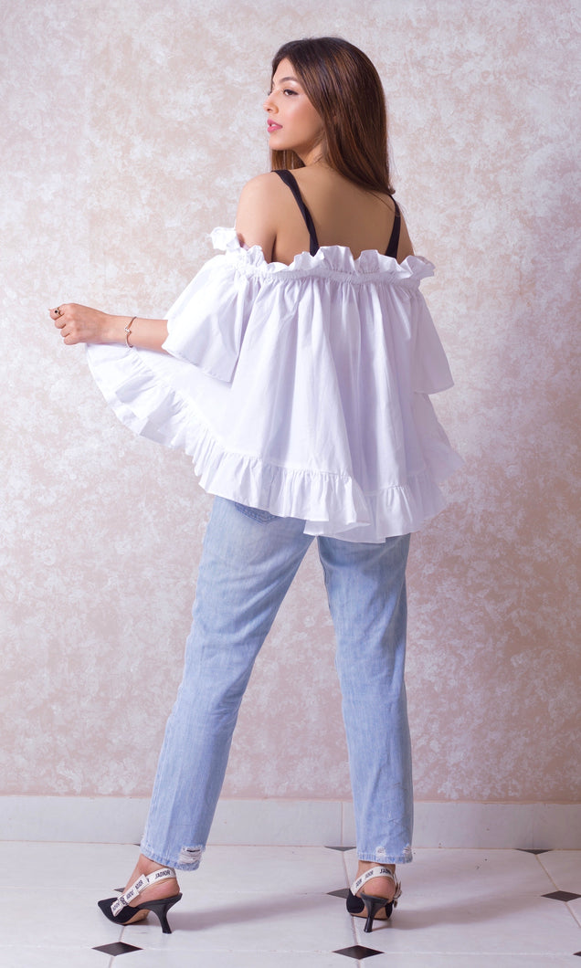 Swing Top with Ruffle