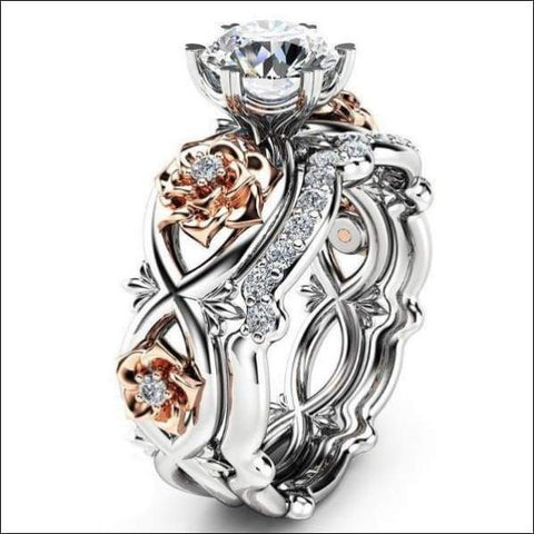 Stunning womens rosy ring