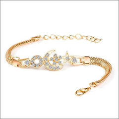 Crystal Bracelets Various Colors Round Pattern Rhinestone. - Ch2858