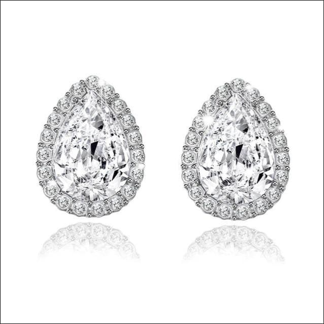 Earrings For Women Eye-Catching Rhinestone Crystal.