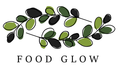 FoodGlow Leaf Halo Logo