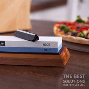Whetstone Knife Sharpening Stone 1000/6000 Grit