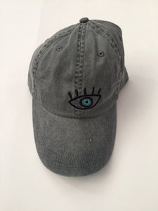 Third Eye Washed-Out Grey Cap