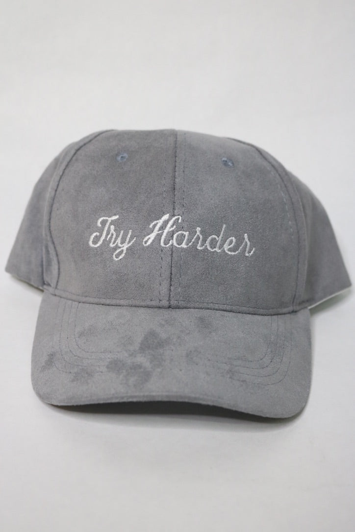 TRY HARDER SUEDE