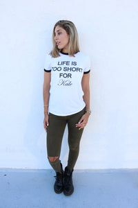 Life Is Too Short For Kale- Shirts