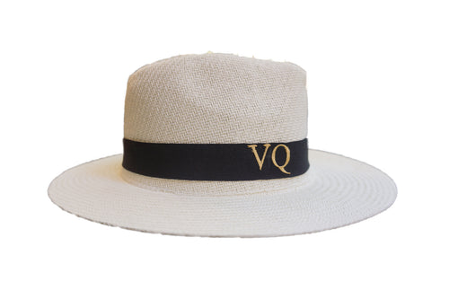 Personalized Straw Panama Hat