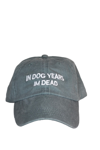 In dog years Im dead- Washed Out Grey