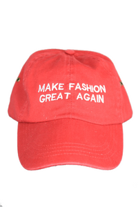 MAKE FASHION GREAT AGAIN