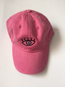 Third Eye Washed-Out Pink Cap