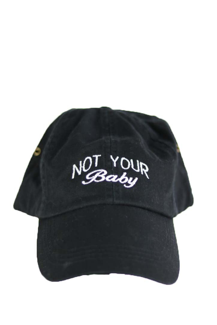 NOT YOUR BABY- BLACK