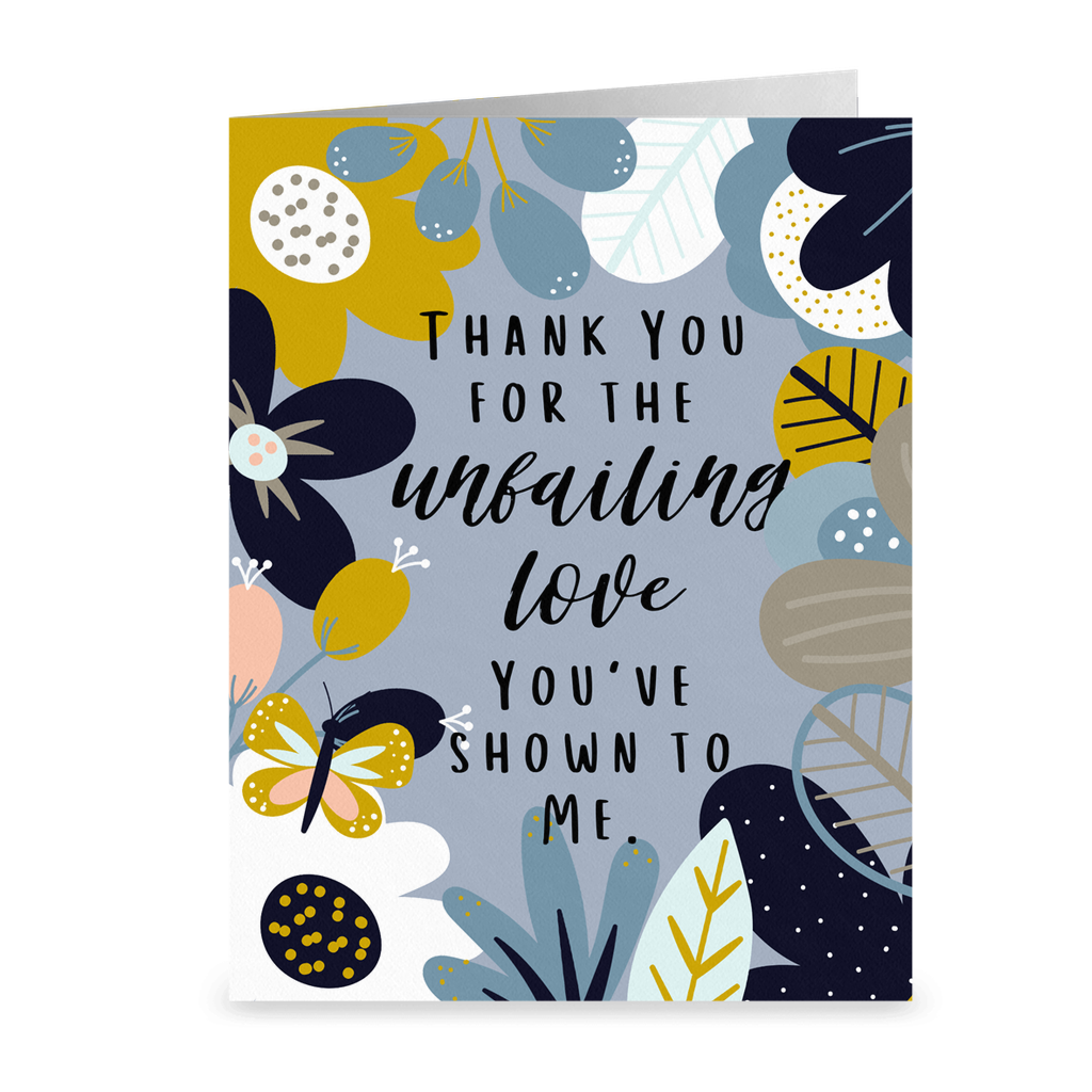 Unfailing Love Thank You Card