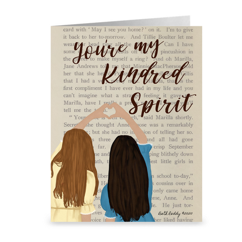 Kindred Spirits Notecards