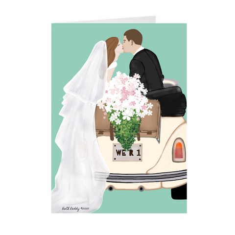 You Are One- Wedding Greeting Card