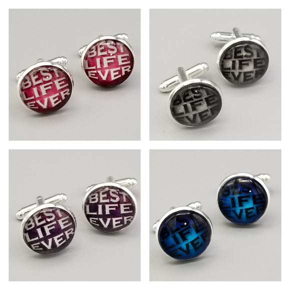 Best Life Ever Cuff Links