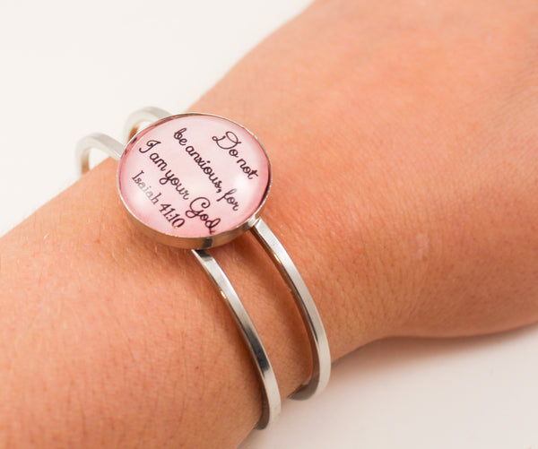 2019 Year Text Hinge Bracelet