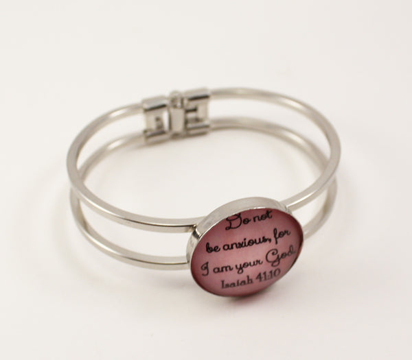 So Not Be Anxious Hinge Bracelet