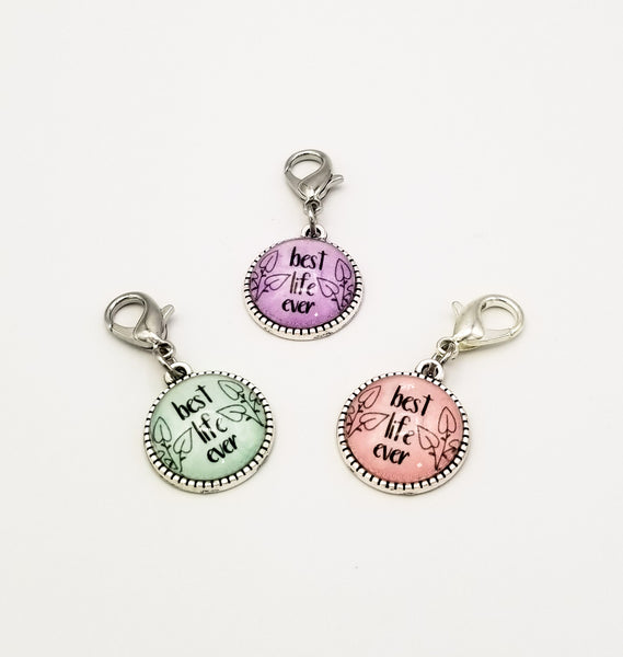 """Best Life Ever"" Charm Trio"