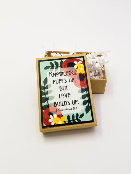 Love Builds Up Jewelry Gift Box