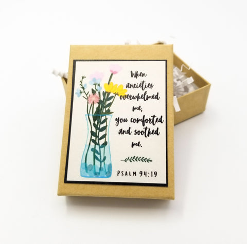 """You Comforted and Soothed Me"" Gift Box"