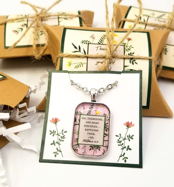 Ready-To-Gift Necklaces in Personalized Boxes- Fully Customizable