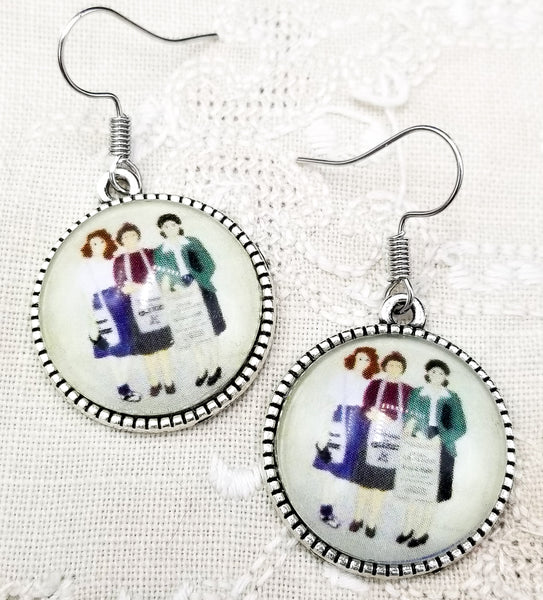 Street Witnessing Trio Earrings