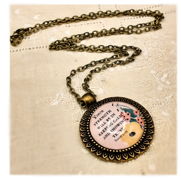 2021 Year Text Necklace with Matching Gift Box