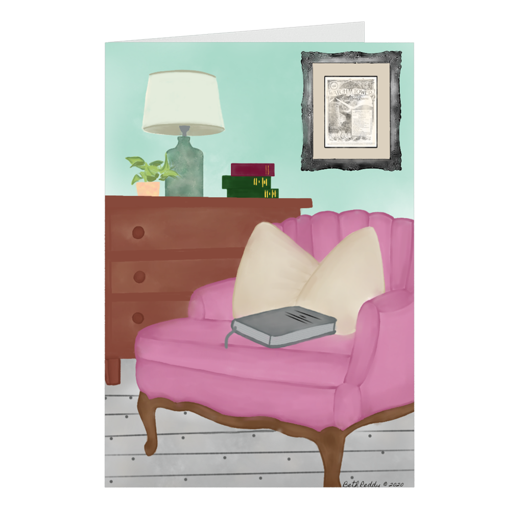 The Study Nook- Petite Note Cards