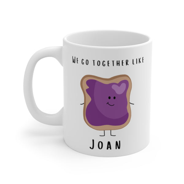 P. B. & J. Couples Mug Set