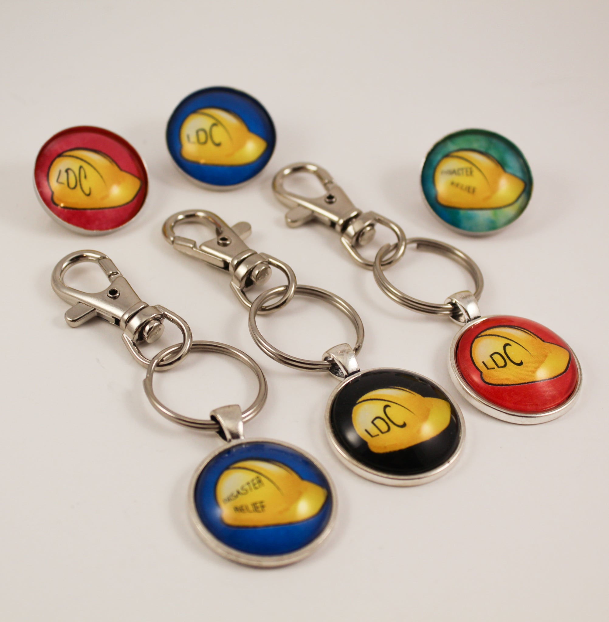 LDC and Disaster Relief Gifts- Choose Pin or Key Ring
