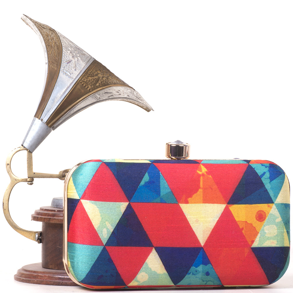 Multi Triangles clutch