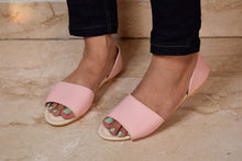 Load image into Gallery viewer, Pastel pink sidestep sandal