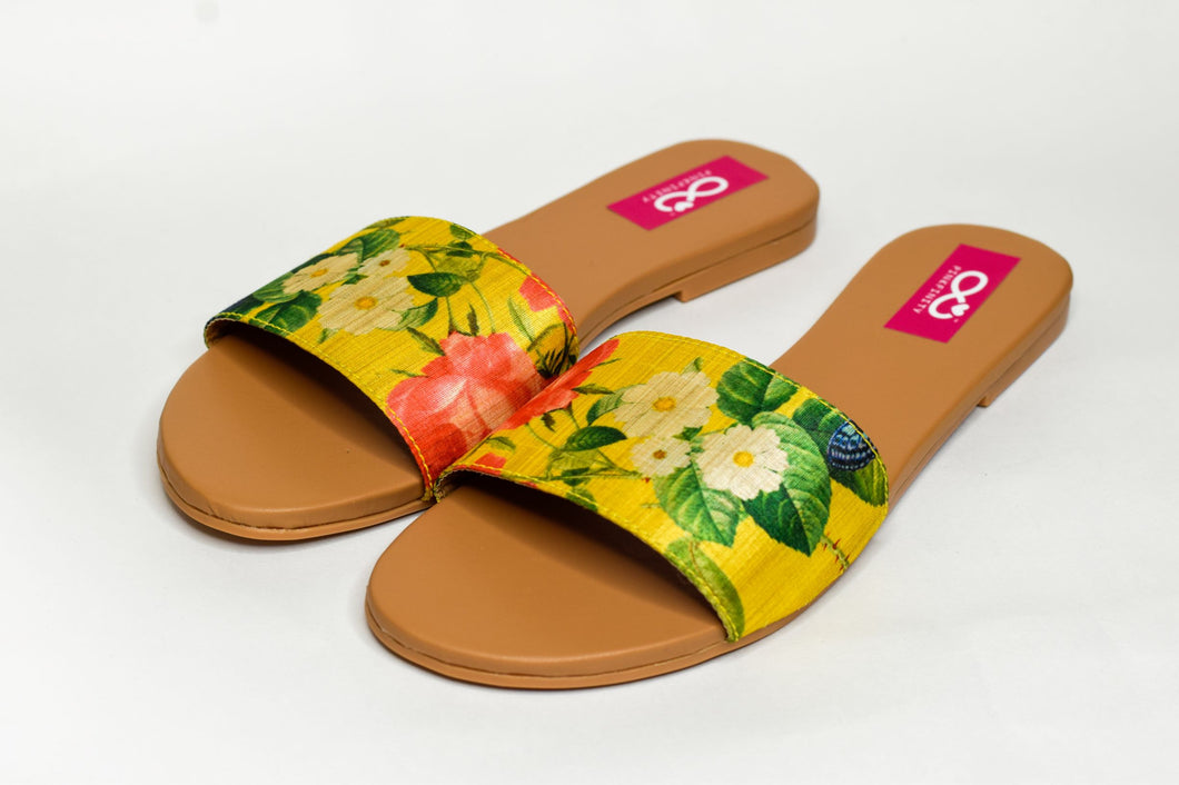 Yellow Daisy and Rose Sliders