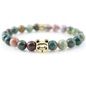 Panda Love Bracelet - Love & Peace Gold