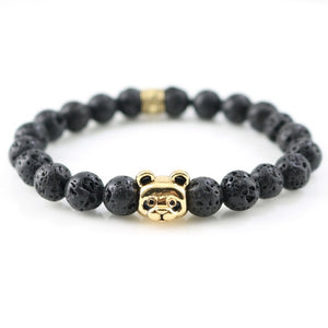 Panda Love Bracelet - Moon Rock Gold