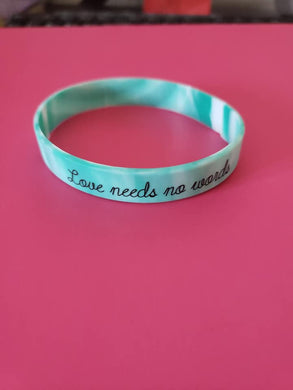 (10) Count Adult Autism Awareness Wristbands
