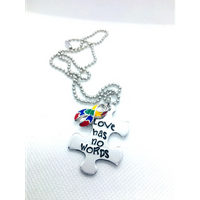 Love Has No Words Necklace