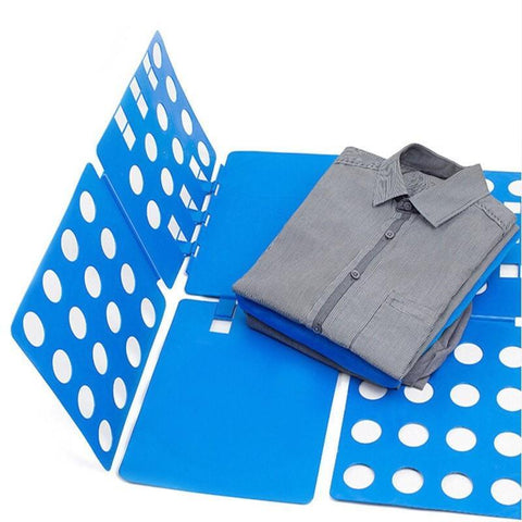 EASY AND QUICK CLOTHES FOLDING IN SECONDS